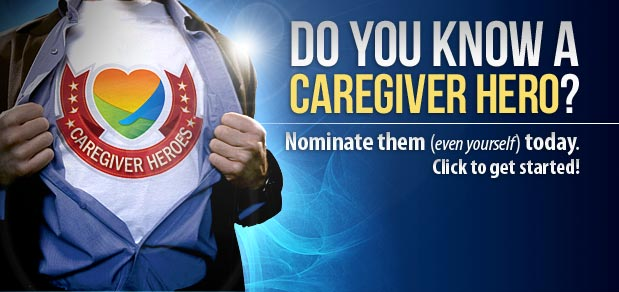 Nominate a caregiver hero